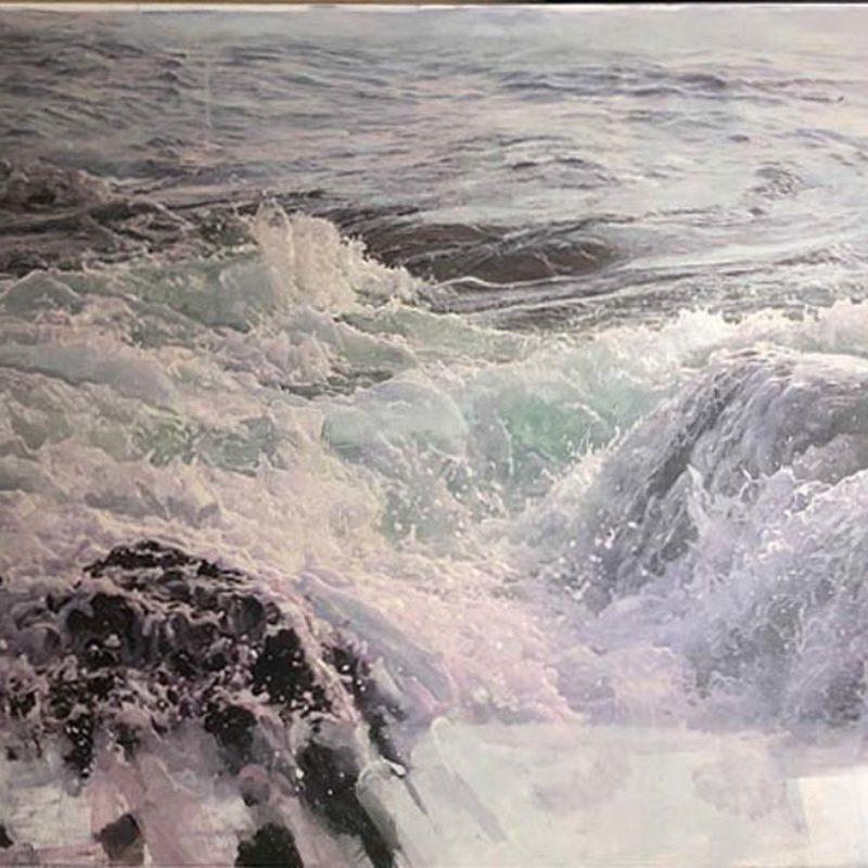 Dawnne McGeachy 4_55.6845° N, 5. 7491° W_Oil WaxInk_93x123