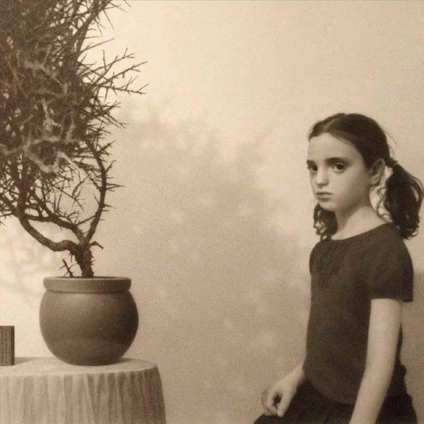 Lewis Chamberlain Girl with Hawthorn 26x21cmweb
