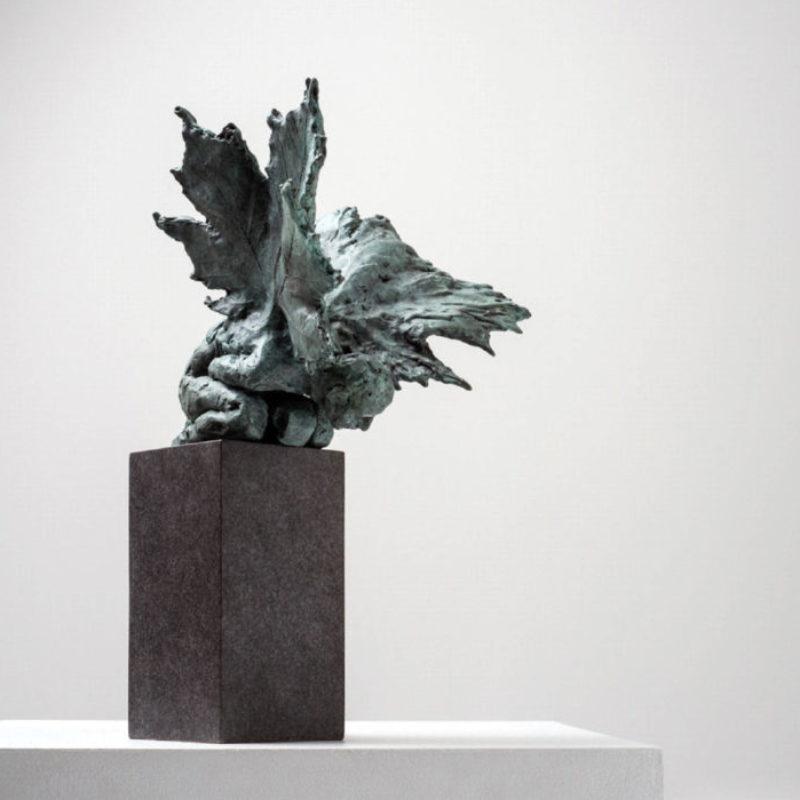 Anna Gillespie Repose, Bronze Ed. of 9 h44 x 27 x 21 cm.