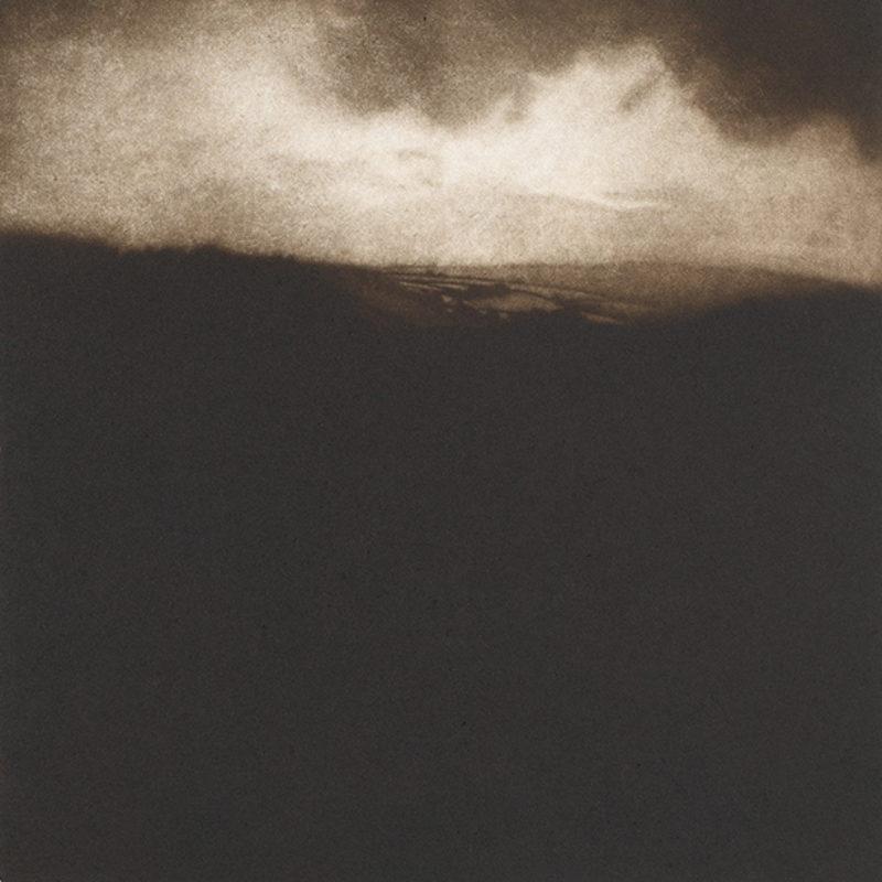 Sarah Gillespie Landscape Near Bath, Mezzotint Edition of 30 35 x 35 cm.