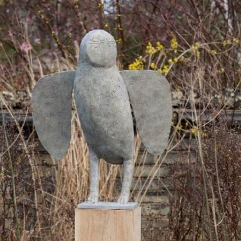 Christopher Marvell Big Starry Owl, Bronze Ed. of V 74 x 60 x 25 cm.