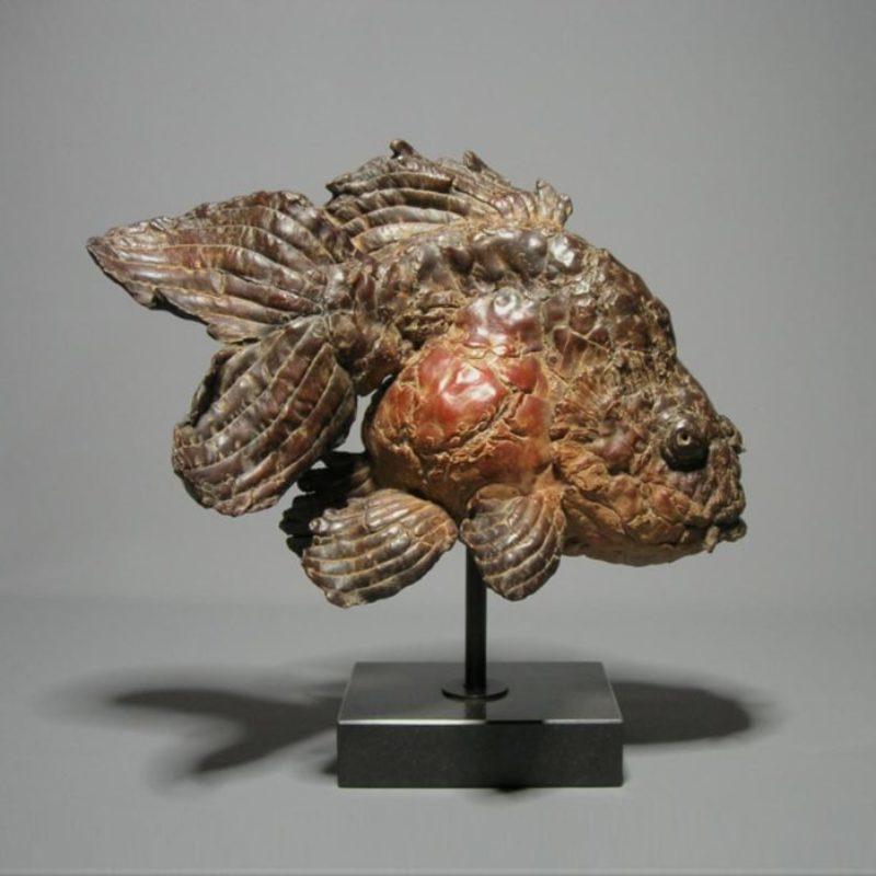 Pieter Vanden Daele Contentus, Bronze Ed. of 8 47 x 46 x 27 cm.