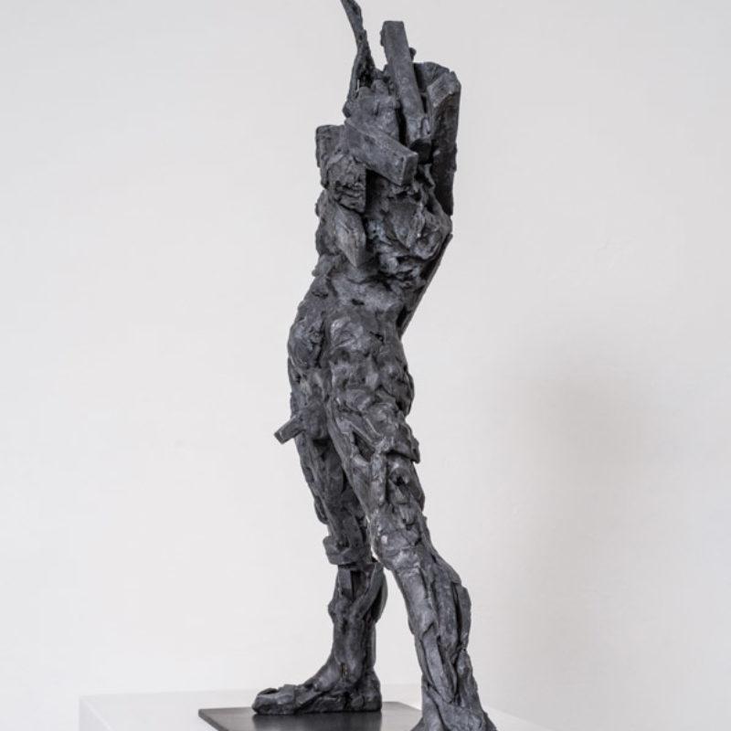 Anna Gillespie Mayhem, Bronze Edition 1 of 6 59 x 40 x 17 cm.