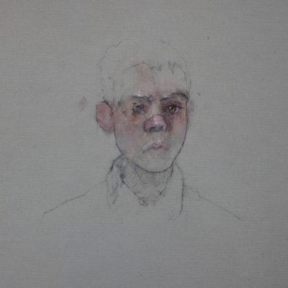 Nathan Ford Joachim 12.19, Oil on canvas 28 x 20 cm.