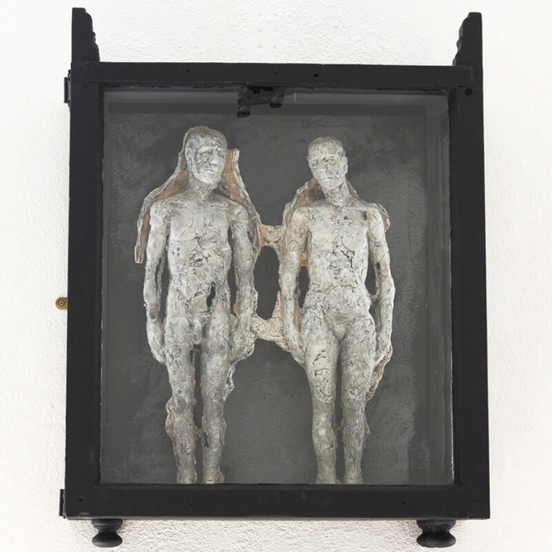 Anna Gillespie Archaeology of Love Part II, Plaster, mixed media