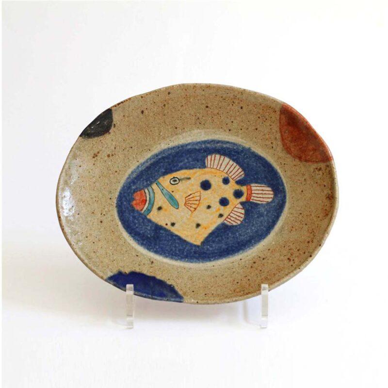 J10 Trigger Fish Dish, Stoneware 22 x 18 5 cm. £160