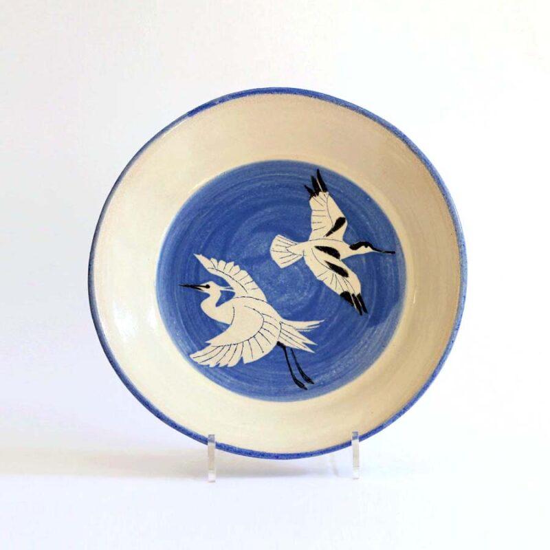 J8 River Exe Birds Bowl, Stoneware 28 x 5 cm. £240