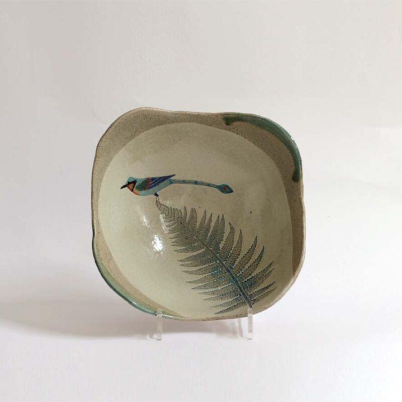 JFK48. Motmot Bowl, Stoneware 25 x 25 x 11 cm. £260
