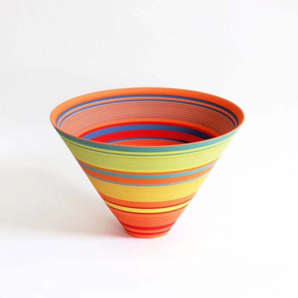 Large Saturn Bowl, Stoneware h19 x Ø 26 cm. £900