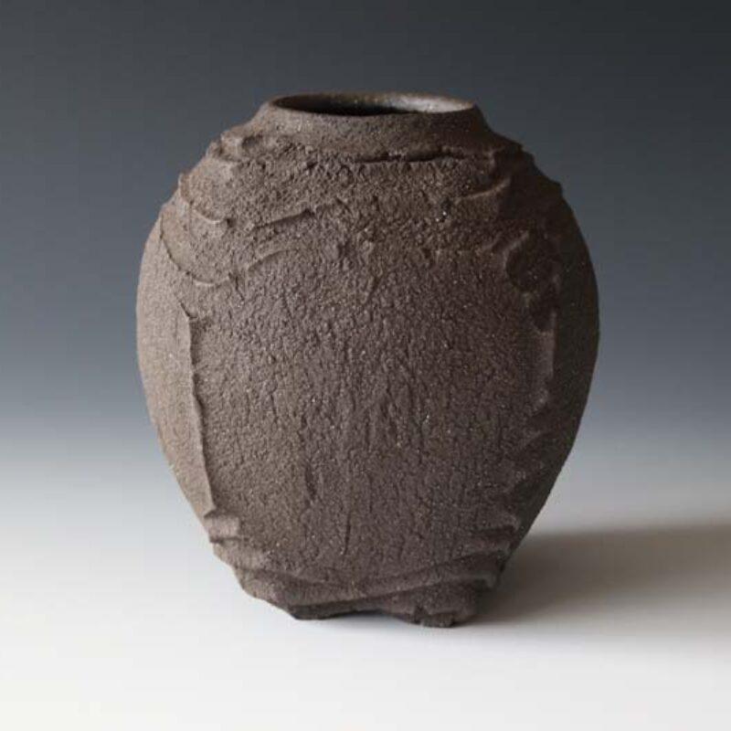 PeatErosionJar.earthenware