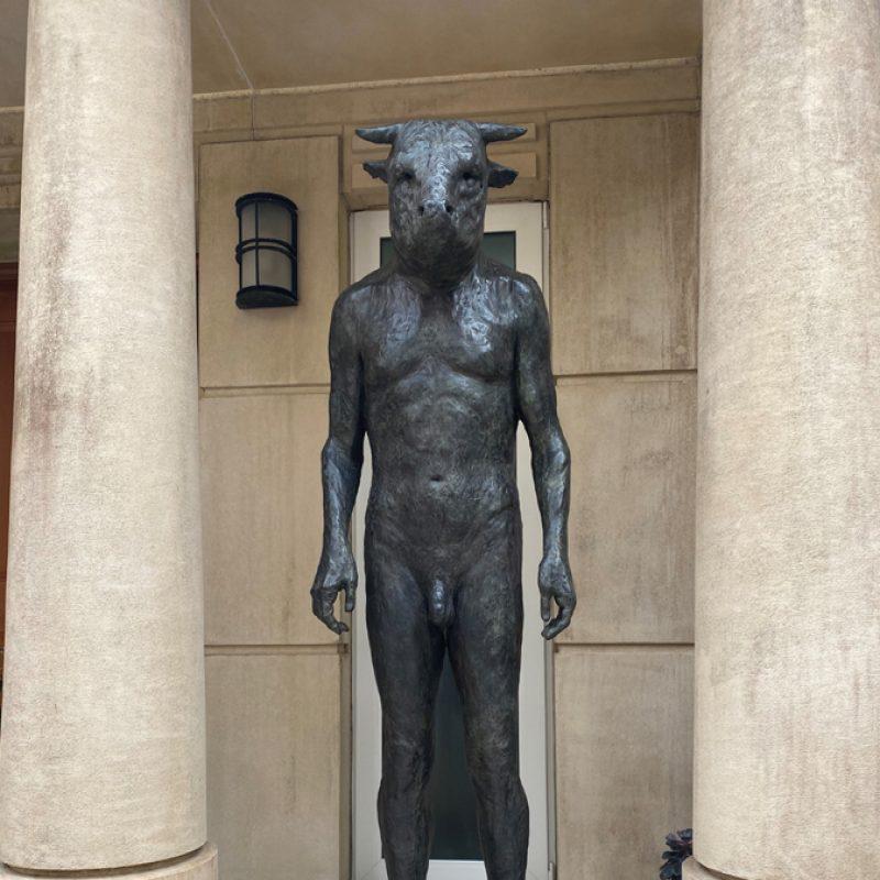 Giant Standing Minotaur, Bronze Ed. of 10 185 x 64 x 61 cm. £38,000