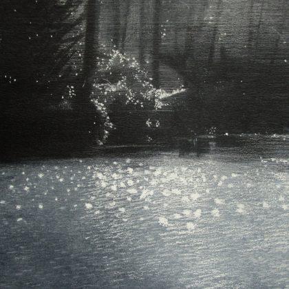 Abbots Pool Spring, Pastel on Paper 19 x 27 cm. £500