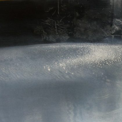 Light and Water 2, Pastel and Paper on Board 80 x 107 cm. £2,000