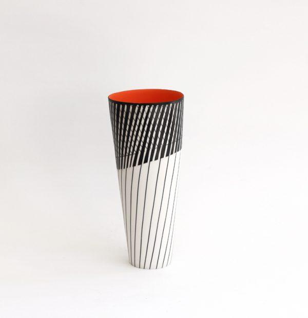 S14. Cone Vase I. Parian Clay 25 x 11 cm. £320