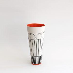 S15. Cone Vase II, Parian Clay 21 x 11 cm. £320
