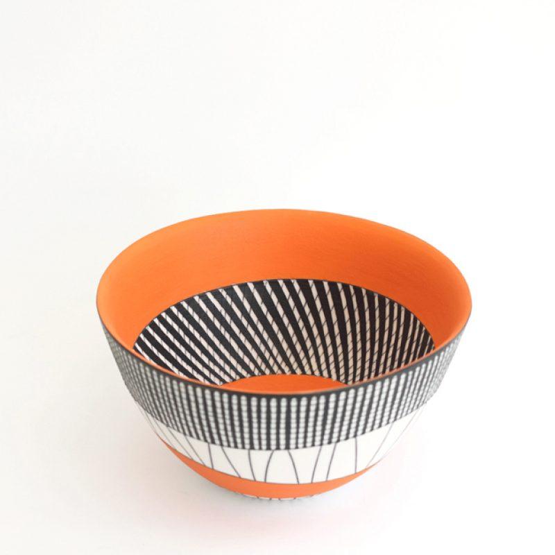 S16. Orange Bowl, Parian Clay 12 x 21 cm. £480