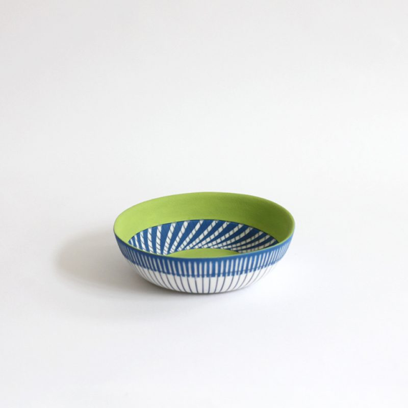 S26. Little Bowl, Parian Clay 3.5 x 12.5 cm. Sold