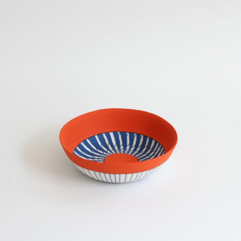 S36. Little Bowl, Parian Clay 3 x 12 cm. £120