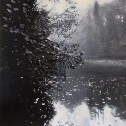 Stillness, Pastel on Paper 98 x 132 cm. Sold