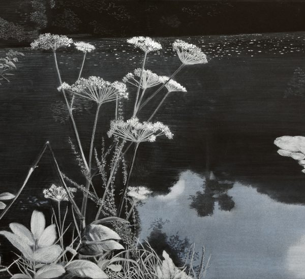 Waters' Edge, Pastel on Paper on Board 98 x 130 cm. £2,600