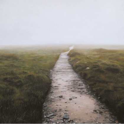 Endless Path, Oil on Linen 89 x 130 cm. £9,750