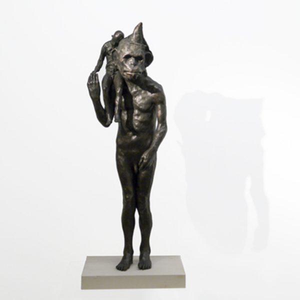 Grinder's Monkey, Bronze Ed. of 15 82 x 27 x 19 cm. £5,520