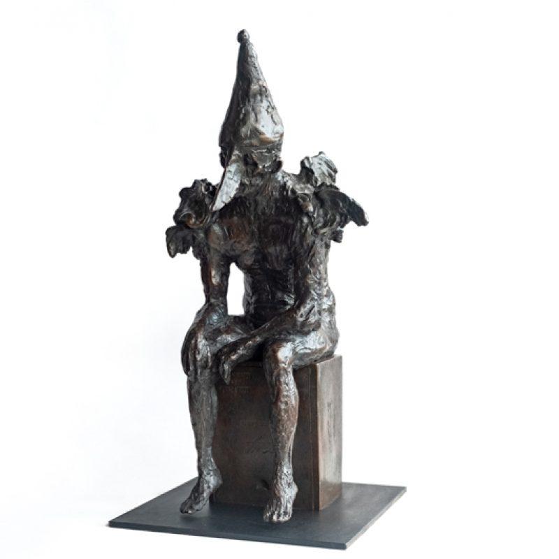 Winged Clown, Bronze Ed. of 10 40 x 19 x 20 cm. £4,500