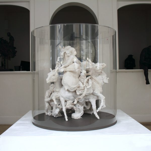 Farewell Carousel, Plaster in Perspex Case 65 x 65 cm. £9,000