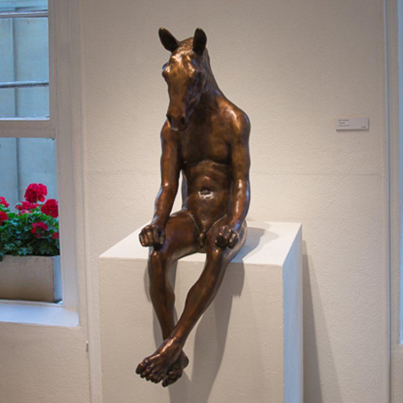 Horsechild, Bronze Ed. of 8 94 x 54 x 38 cm. £10,800