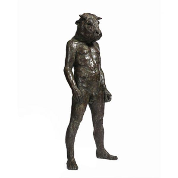 Standing Minotaur I, Bronze Ed. of 8 550 x 412 cm. £16,500
